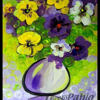 Purple Poppys