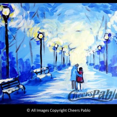 Park Lights Winter