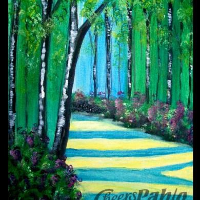 Peaceful Trees