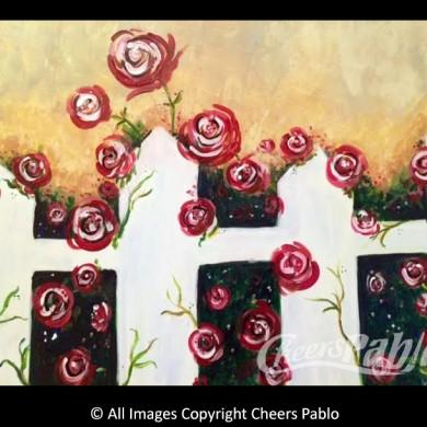 Peek-A-Boo Roses
