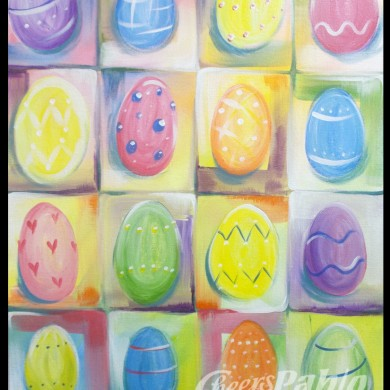 Easter Egg Grid