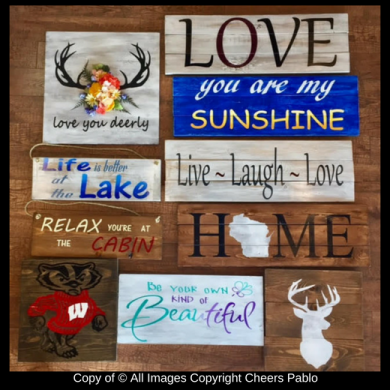DIY Wood Canvases