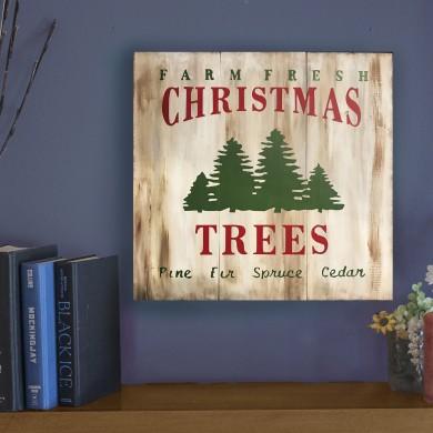 Christmas Trees 16x16