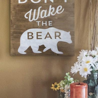 Don't Wake The Bear 12x12