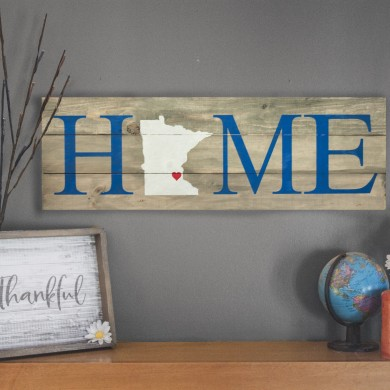Home - Minnesota, Horizontal 12x32