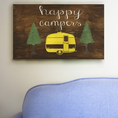 Happy Campers 12x24
