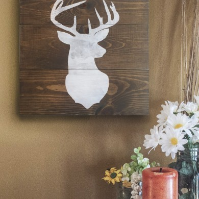 Deer Bust 16x16