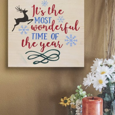 It's The Most Wonderful Time of the Year 12x12