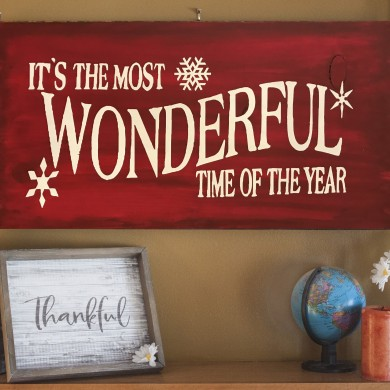 Its the Most Wonderful Time of the Year 12x24