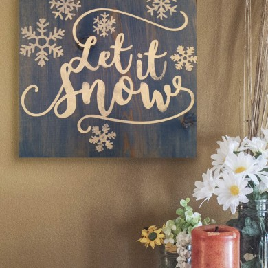 Let It Snow 12x12