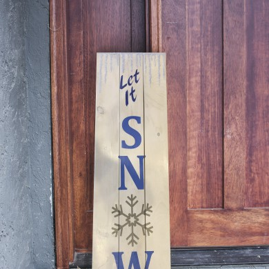 Let it Snow 12x32