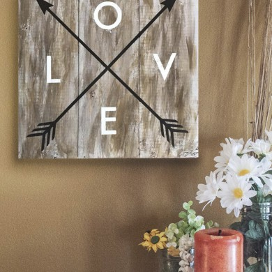 Love- thin arrows 16x16
