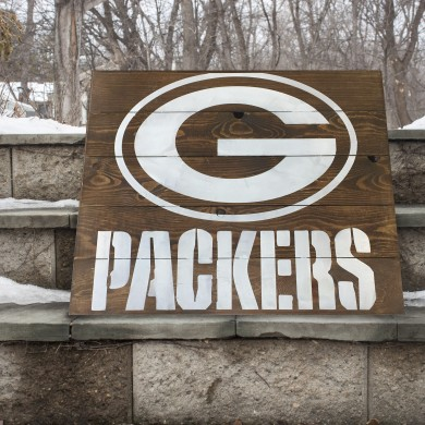 Packers 16x16