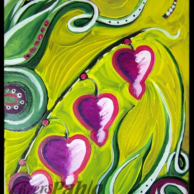 Hearts on a Vine