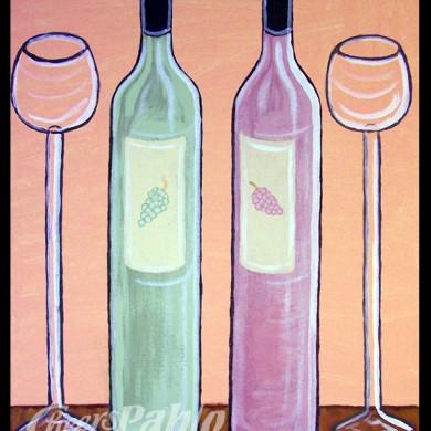 Pastel Wine