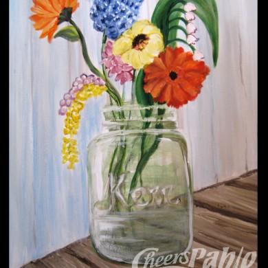 Jar O Flowers