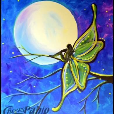 Moonlit Fairy Glow in the Dark