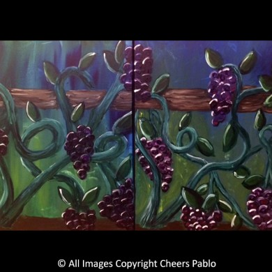Tangled Vines Coupes Canvas
