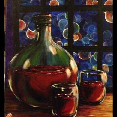 Wine Colored Nights