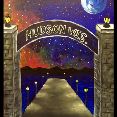 Hudson at Night
