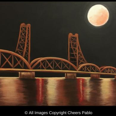 Moonlit Stillwater