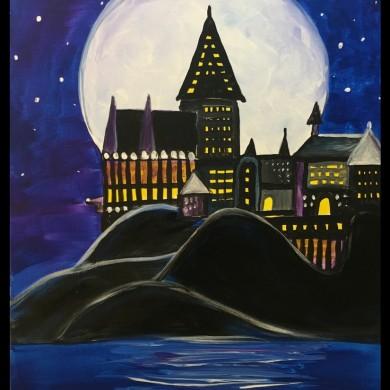 Castle Under the Moon