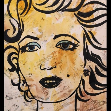 Pablos Pop Art Marilyn