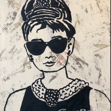Pablo Pop Art - Audrey