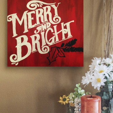 Merry and Bright 12x12