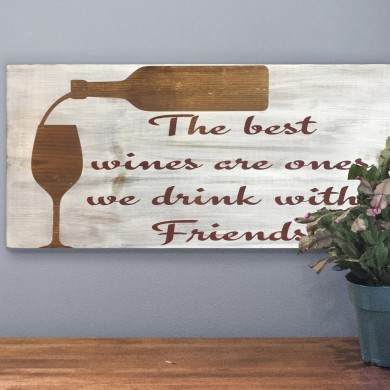 The Best Wines 12x24