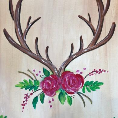 Antlers & Roses
