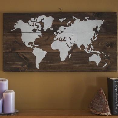 World Map 16x32