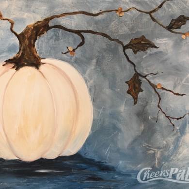 Harvest Pumpkin Blue