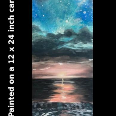 Starry Sea 12x24