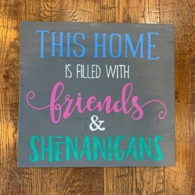 Friends & Shenanigans 12x12