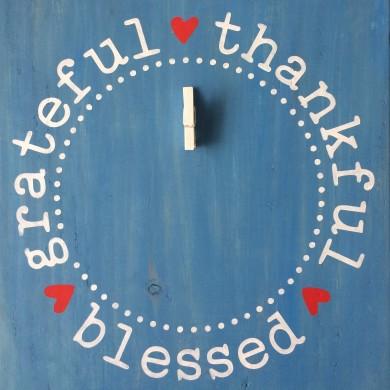 Thankful Grateful Blessed 12