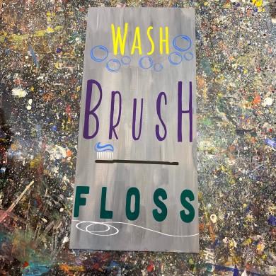 Wash Brush Floss